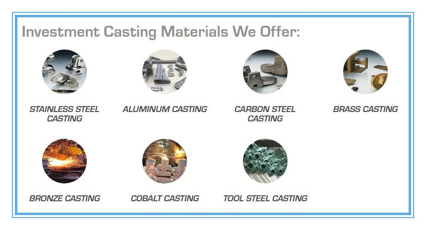 investment-casting-materials-we-offer