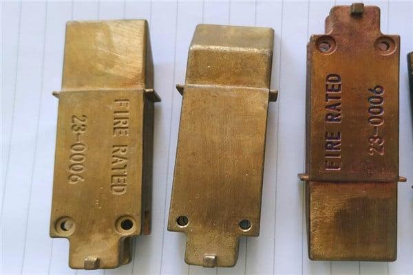Customized lock parts door lock investment casting accessories 2
