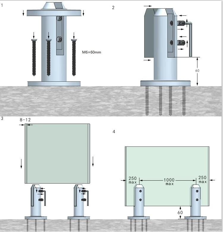 Stainless-steel-glass-spigot-installation-indication